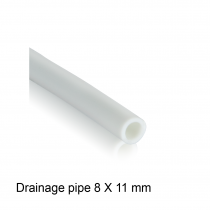 Drainage pipe 8 X 11 mm